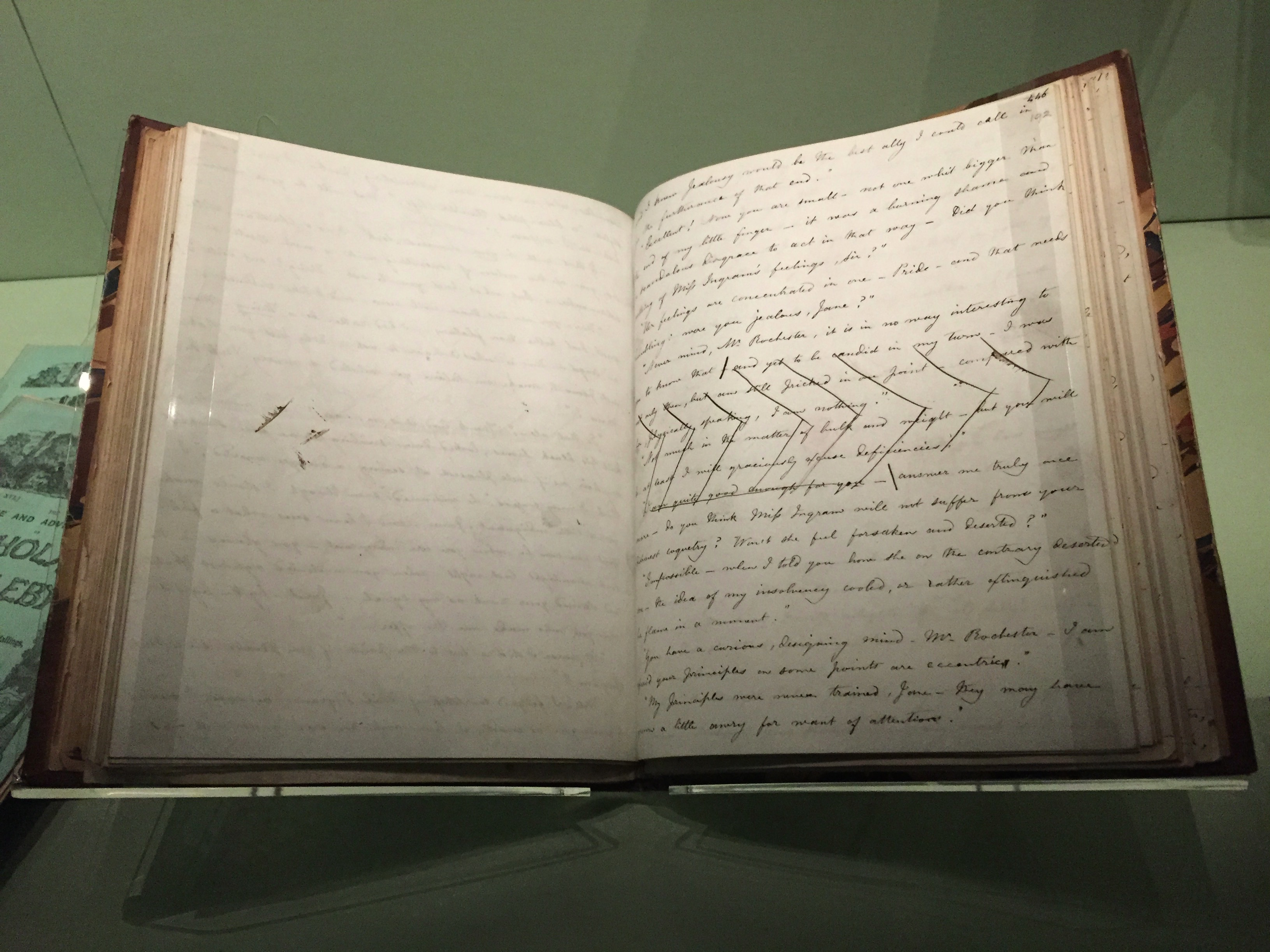 Manuscript - Jane Eyre (1847) by Charlotte Bronte