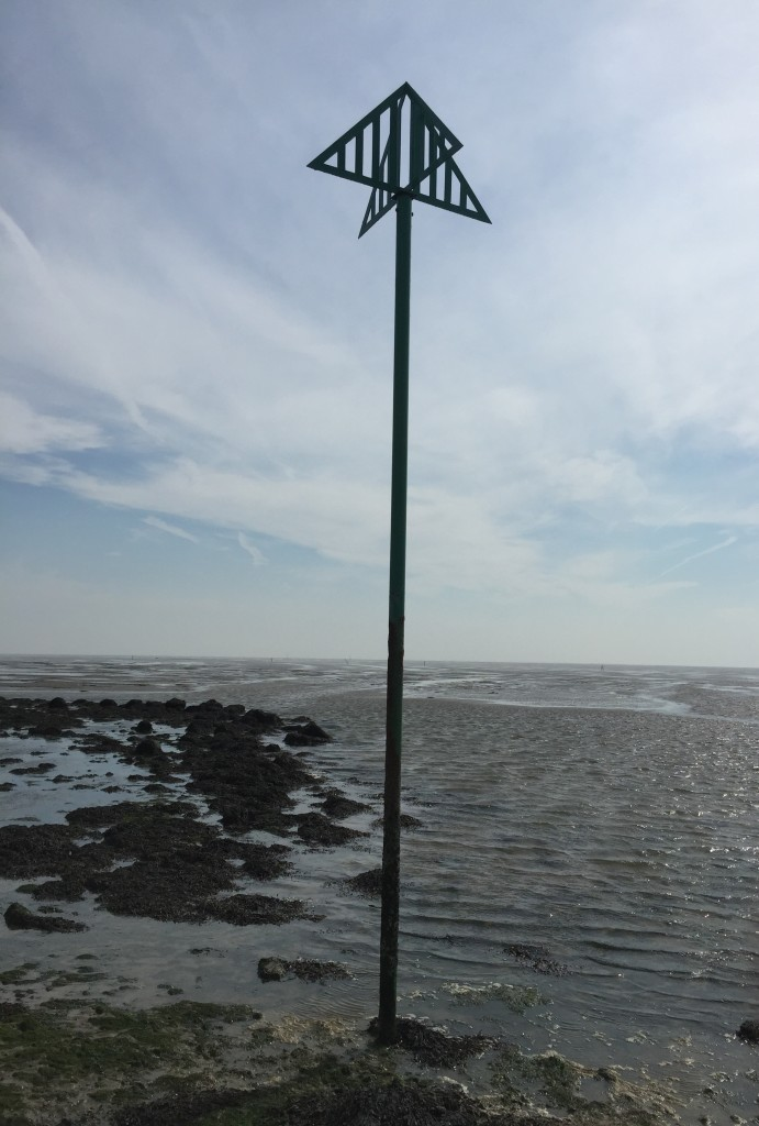 Broomway marker