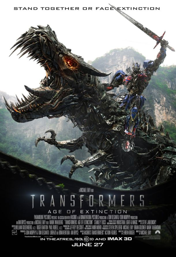 Review: Transformers: The Age of Extinction (or There Is More Than One Kind of Dinosaur)